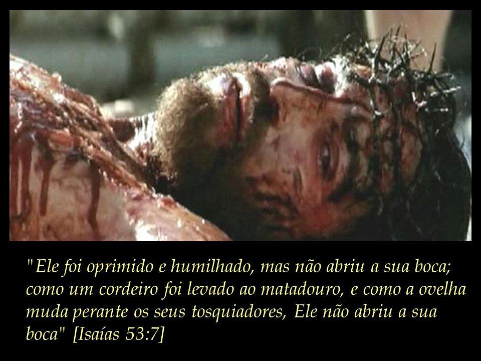 ...e principalmente morrer em sacrifício para a remissão de todos os nossos pecados:
