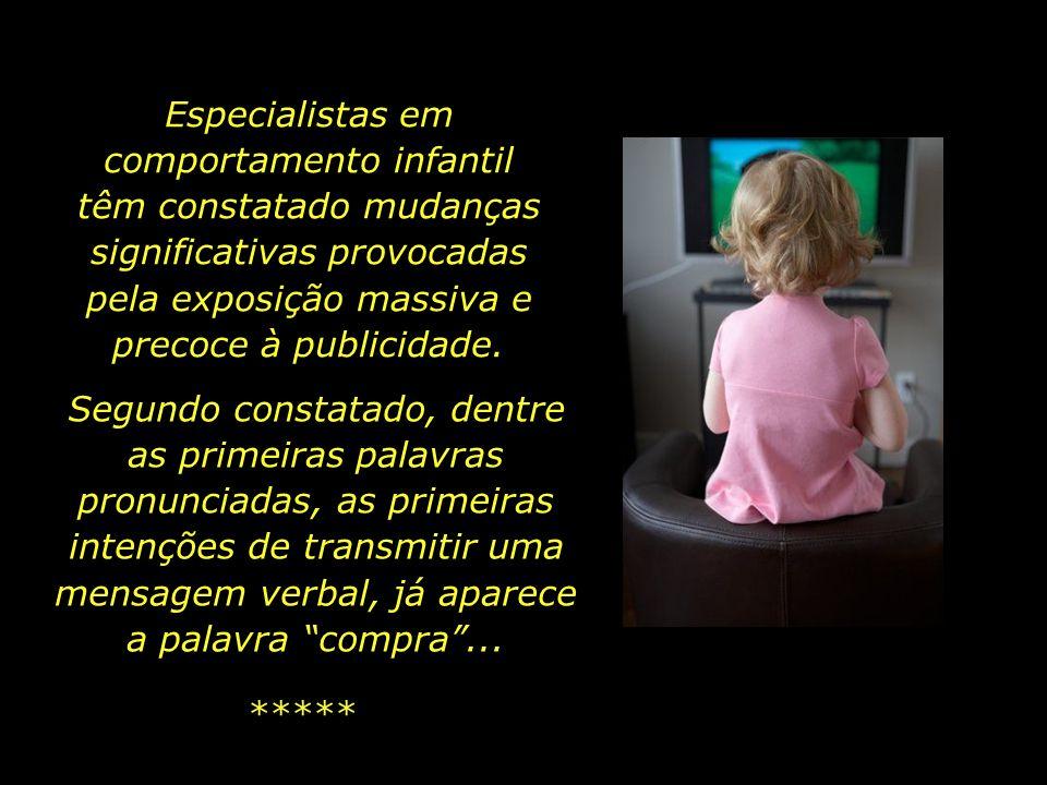 Não há refúgio: até mesmo nos canais pagos com preocupações ditas educativas, a disputa pela hora em que a criança formula o desejo de ter algo que pr