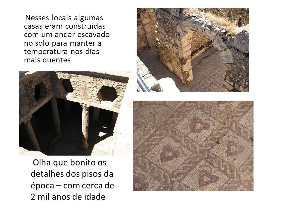 Ruínas romanas de Bulla Regia É emocionante visitar e andar por locais que foram habitados a mais de 1800 anos