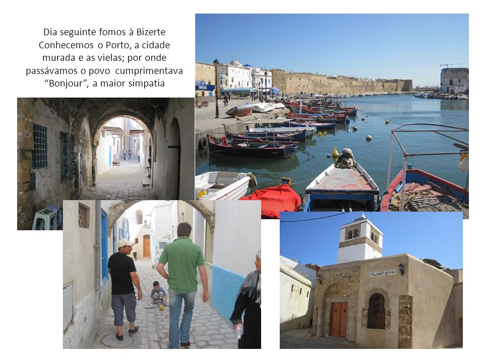 A Tunísia é um país de maioria muçulmana e as mulheres mais tradicionais usam roupa para ir à piscina e as vezes até vão com os cabelos cobertos para a água, mas não há problema nenhum com a nossa cultura ou traje de banho Hotel El Moradi Gammarth em Túnis, de frente para o mar.
