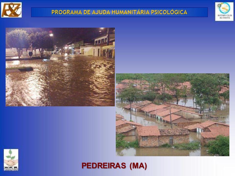 PEDREIRAS (MA) PROGRAMA DE AJUDA HUMANITÁRIA PSICOLÓGICA