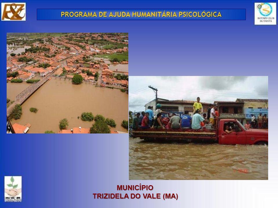 MUNICÍPIO TRIZIDELA DO VALE (MA) PROGRAMA DE AJUDA HUMANITÁRIA PSICOLÓGICA