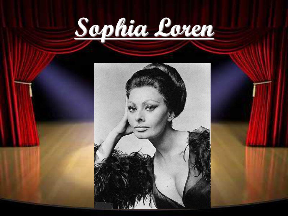 Nome artístico: Sophia Loren Nome verdadeiro: Sofia Villani Scicolone Nascida em Roma, no dia 20 de Setembro de 1934.