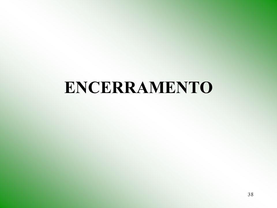38 ENCERRAMENTO
