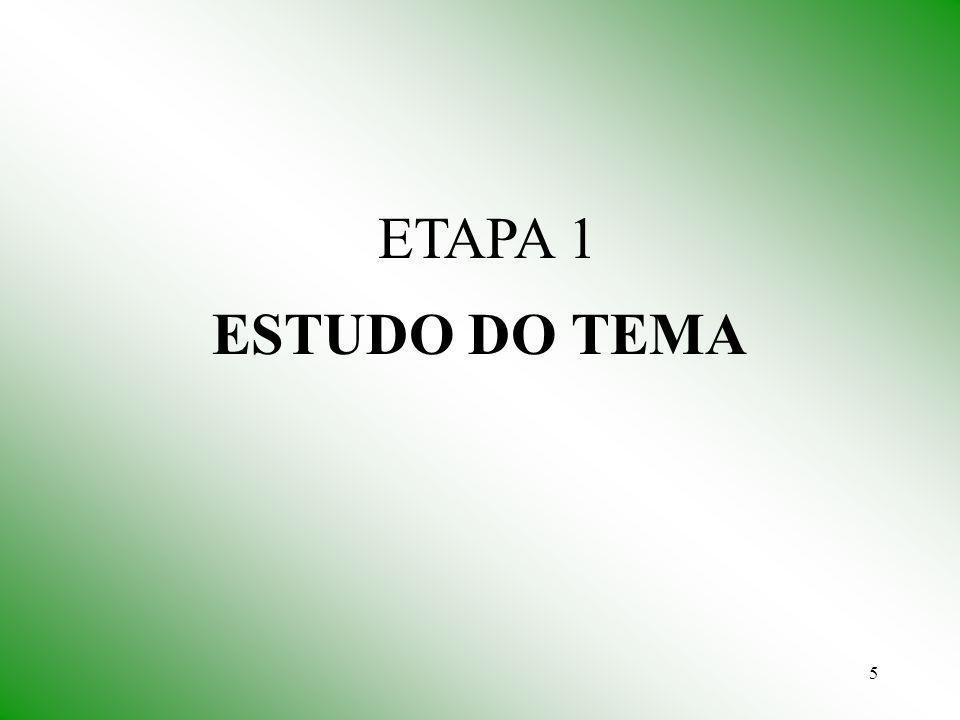 5 ESTUDO DO TEMA ETAPA 1