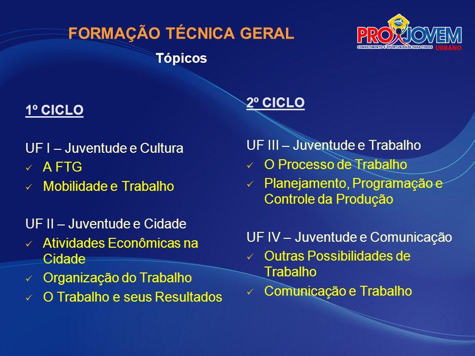 INSTRUMENTOS da AVALIAÇÃO da qualificação profissional FTG – Ficha 6 e Prova ao final de cada Unidade Formativa (UF I a UF IV) (UF I a UF IV) ARCO – Ficha 6 (UF I a UF VI) POP – Ficha 7 (UF I a UF VI)
