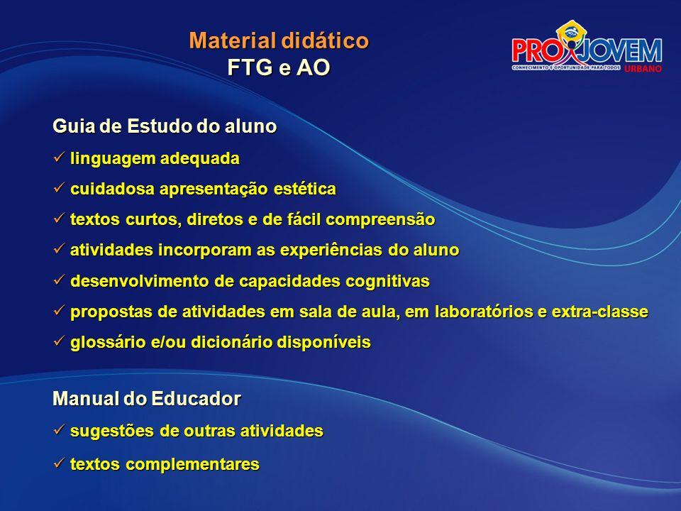 CERTIFICAÇÃO QUALIFICAÇÃO PROFISSIONAL PONTUAÇÃO Provas (FTG) – 6 pontos / Unidade Formativa...........................