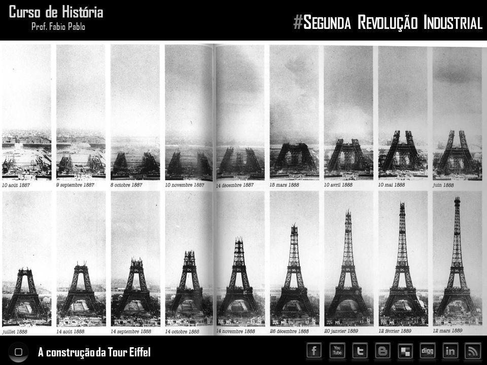 A construção da Tour Eiffel Curso de História Prof. Fabio Pablo #S EGUNDA R EVOLUÇÃO I NDUSTRIAL