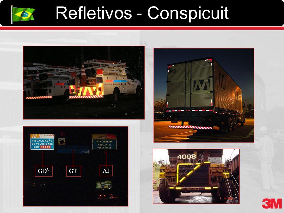 Refletivos - Conspicuit GD 3 GT AI