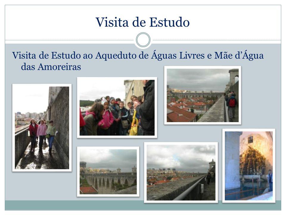 Visita de Estudo Visita de Estudo ao Aqueduto de Águas Livres e Mãe dÁgua das Amoreiras