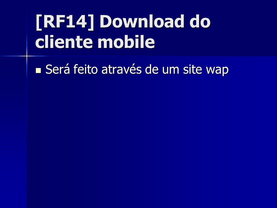 [RF15]Login no cliente mobile