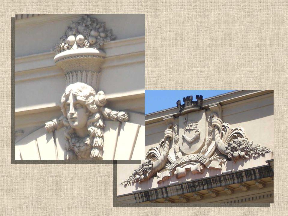 Detalhes da fachada