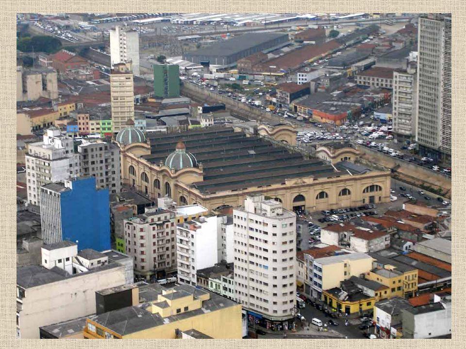Visto do alto do edifício Banespa
