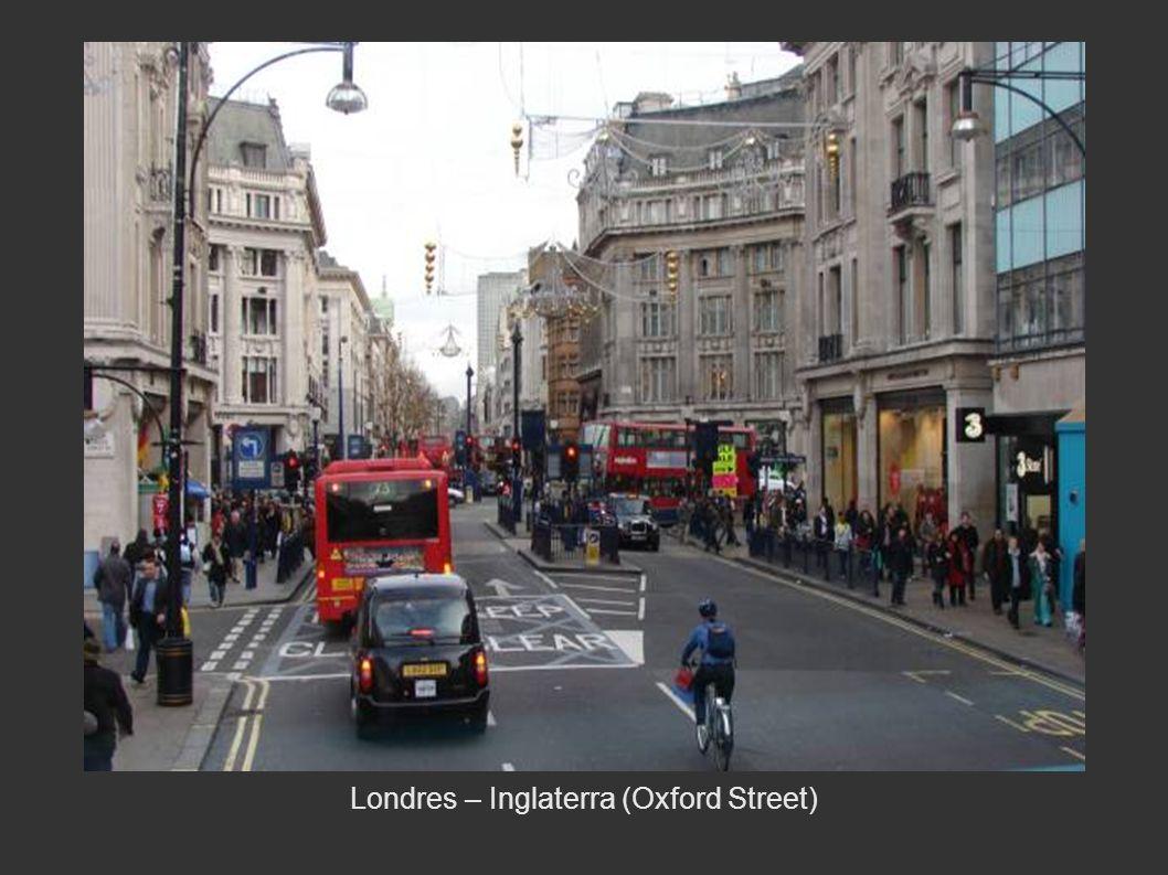 Londres – Inglaterra (Oxford Street)