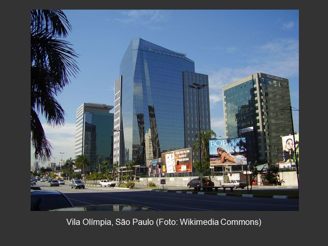 Vila Olímpia, São Paulo (Foto: Wikimedia Commons)