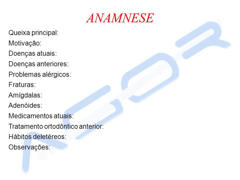 ANÁLISE DE ROTH-JARABAK Ângulo Sela NSAr (123 o +-5): Ângulo Articular SArGo` (143 o +-6): Base Craniana Anterior S-N (): Base Craniana Posterior S-Ar (32,0mm): Ângulo Goníaco ArGo`Me (130 o ): Ângulo Goníaco Superior ArGo`N (55 o ): Ângulo Goníaco Inferior NGo`Me (75 o ): Altura do Ramo Go`-Ar (44,0mm): Corpo Mandibular Go`Me (69,5mm jovens e 71,0mm adultos): S-Go: N-Me: S-Go % N-Me (62,5%): Foto do traçado de Roth-Jarabak