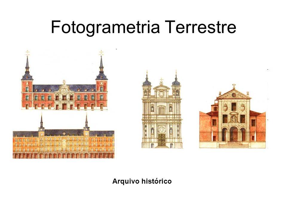 Fotogrametria Terrestre Reconstrução de Acidentes de Carro Mapeamento de detalhes arquitetônicos de Estátuas