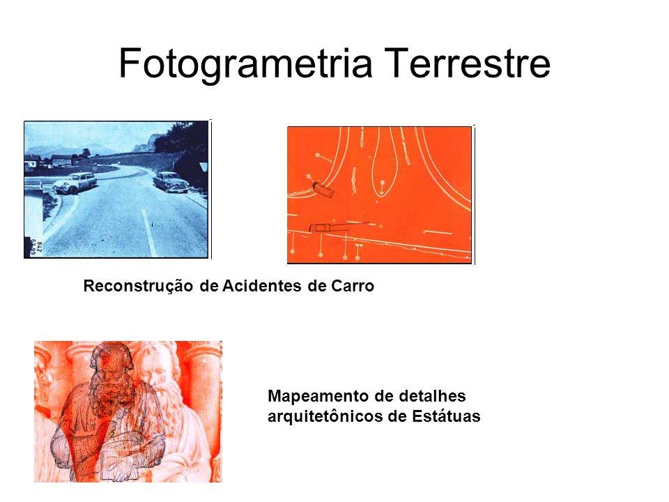 Fotogrametria Terrestre Mapeamento de detalhes arquitetônicos de Tetos