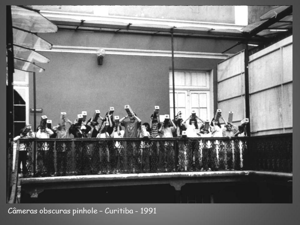 Câmeras obscuras pinhole – Curitiba - 1991