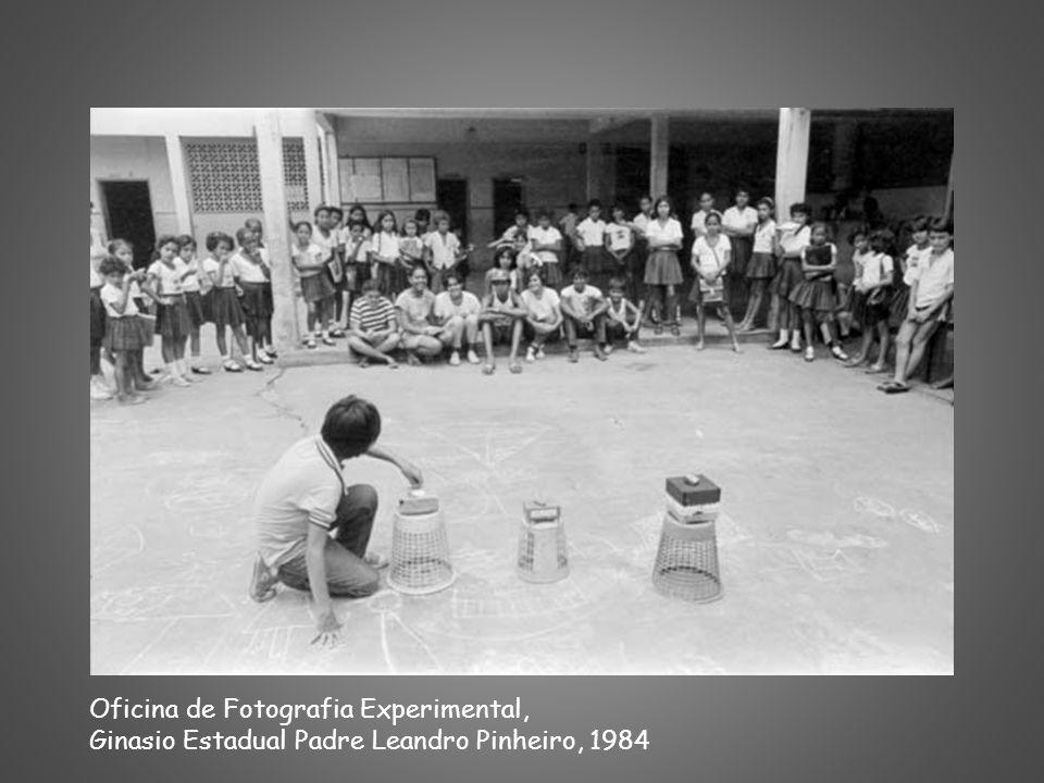 Oficina de Fotografia Experimental, Ginasio Estadual Padre Leandro Pinheiro, 1984