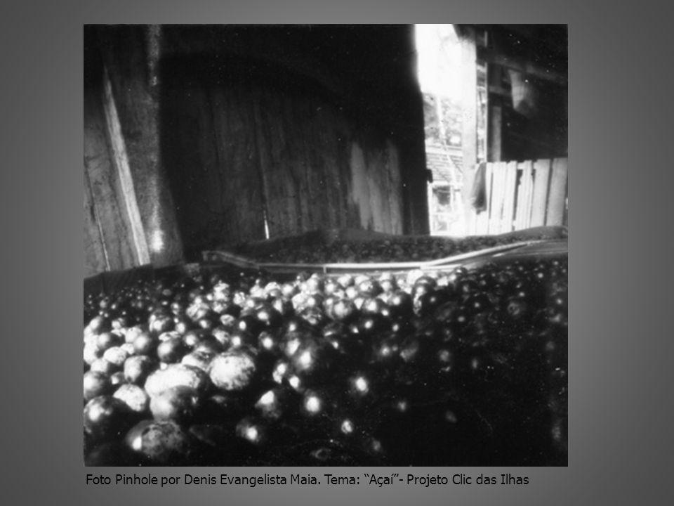 Foto Pinhole por Denis Evangelista Maia. Tema: Açaí- Projeto Clic das Ilhas