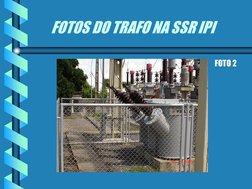 FOTOS DO TRAFO NA SSR IPI TRAFO 6.6 KV ISOLADO A FIM EVITAR O ARCO ELÉTRICO FOTO 1