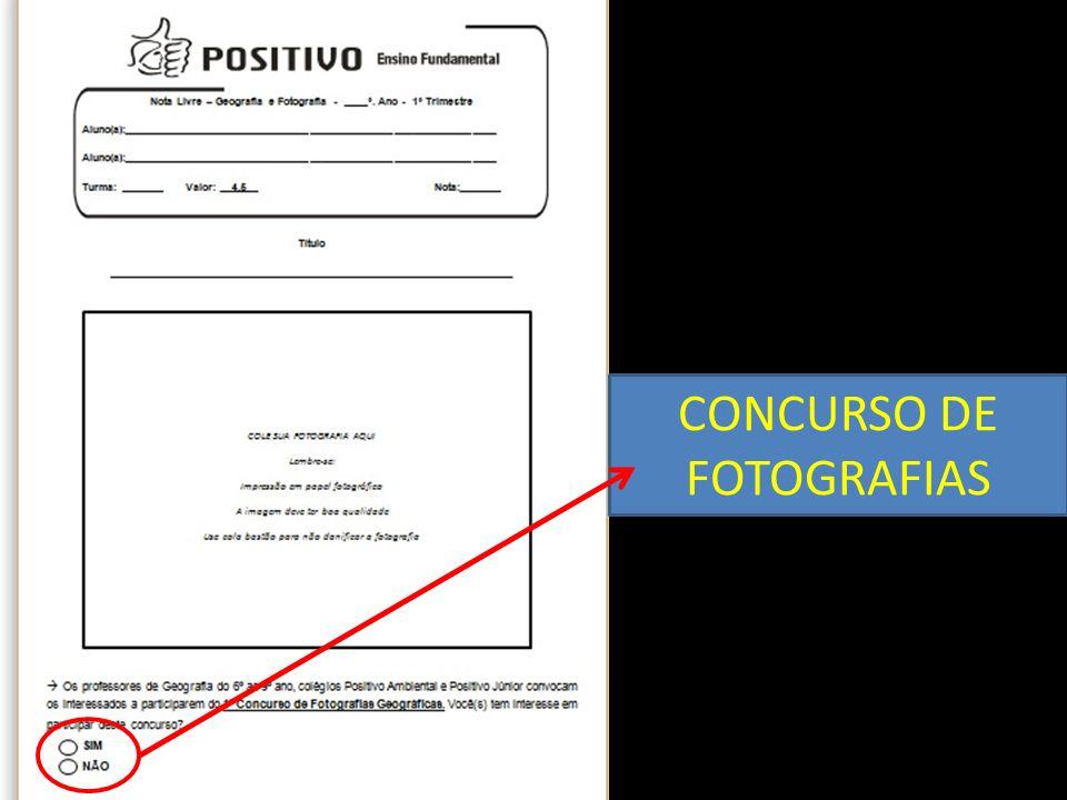 CONCURSO DE FOTOGRAFIAS