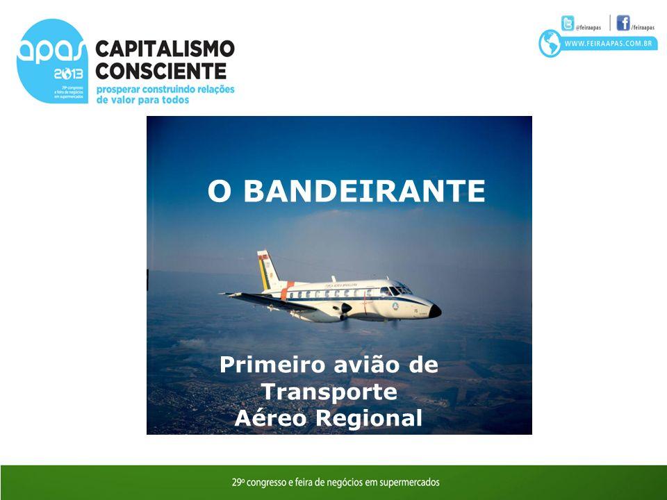 Primeiro avião de Transporte Aéreo Regional FAB encomenda 80 unidades do EMB 110 Bandeirante O BANDEIRANTE