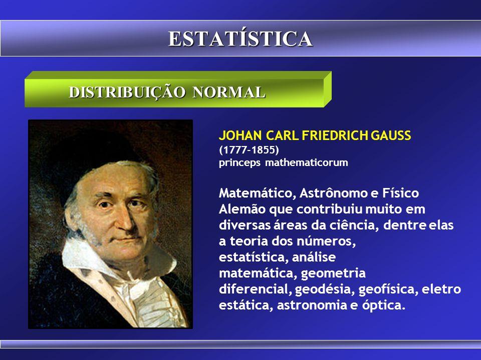 ESTATÍSTICA DISTRIBUIÇÃO NORMAL Fonte: http://www.ciencias.seed.pr.gov.br/modules/galeria/detalhe.php?foto=1887&evento=1