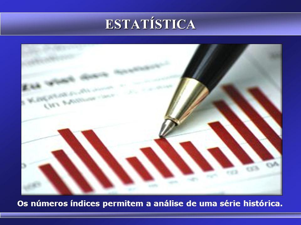 Prof. Hubert Chamone Gesser, Dr. Disciplina de Análise Estatística Retornar Números Índices