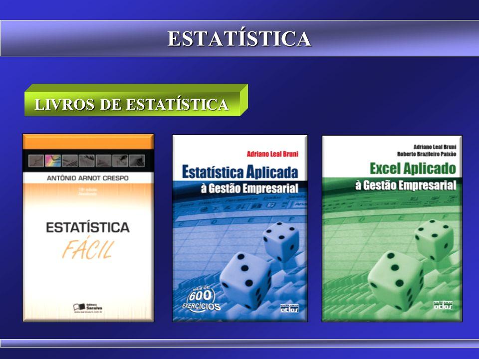 ESTATÍSTICA A ESTATÍSTICA Z 0 x y 1 DP 2 DP 3 DP +1-2+2 +3-3 A estatística Z (standard score) está baseada na curva normal.