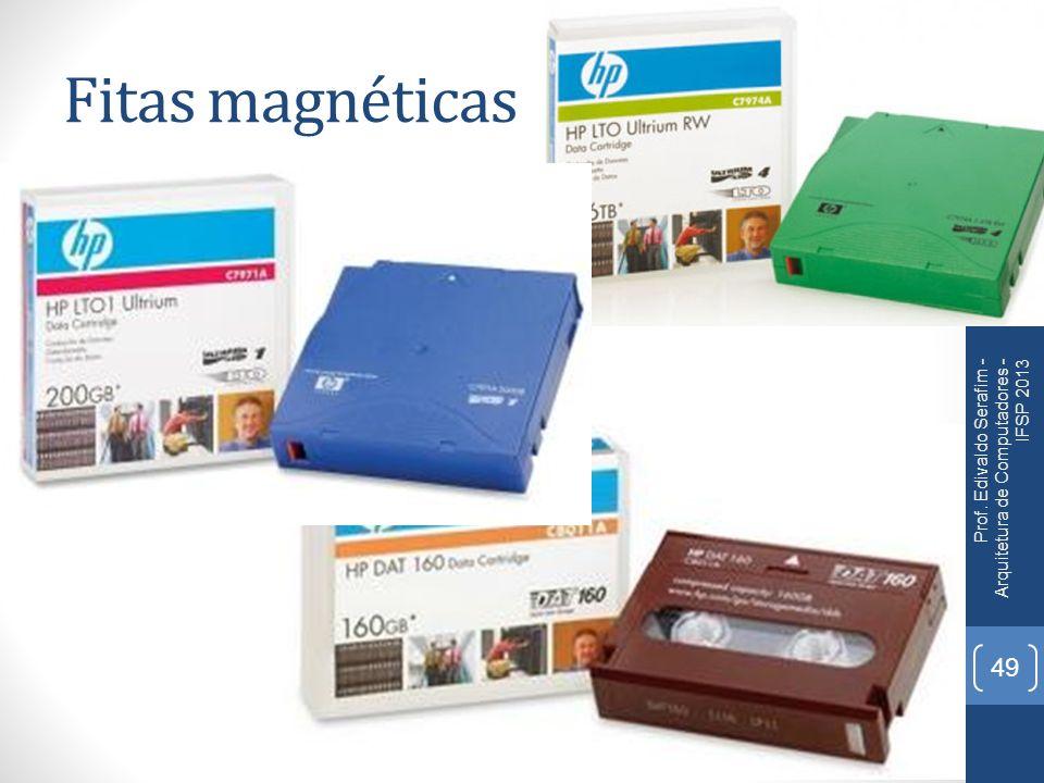 Fitas magnéticas Prof. Edivaldo Serafim - Arquitetura de Computadores - IFSP 2013 49