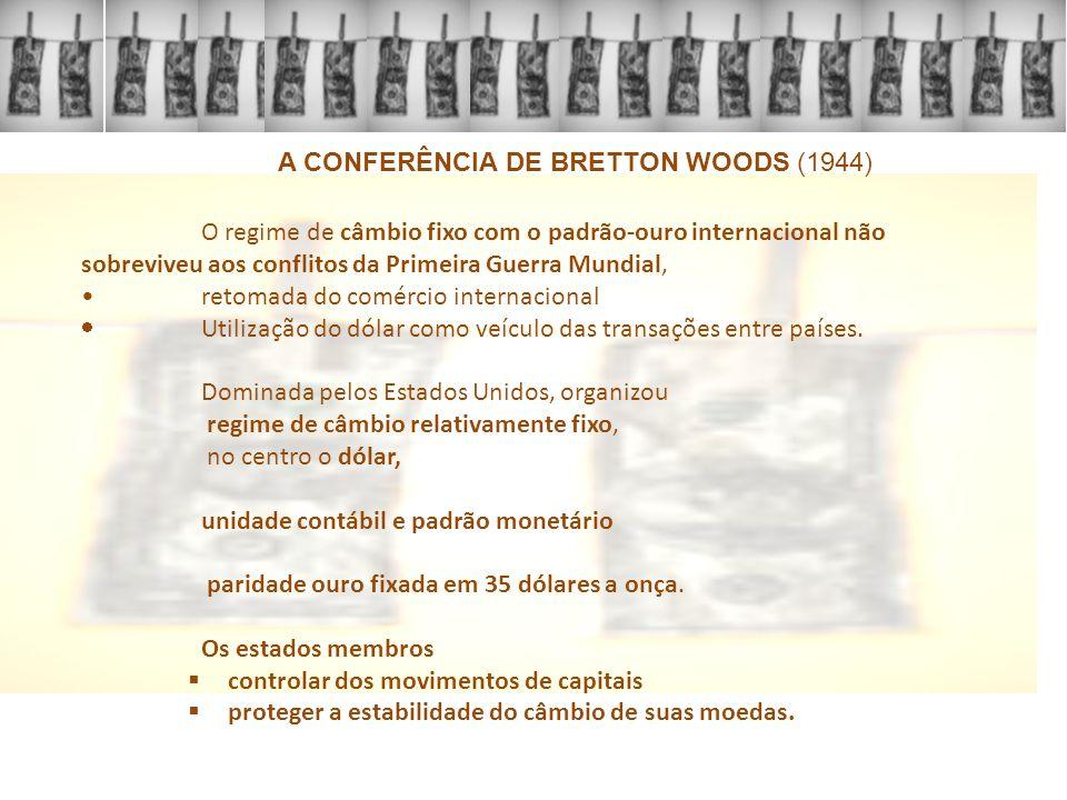 aumento das taxas de inflação política internacional abrir o mundo economicamente e o comércio mundial liberalizado em 1971 o acordo de Bretton Woods