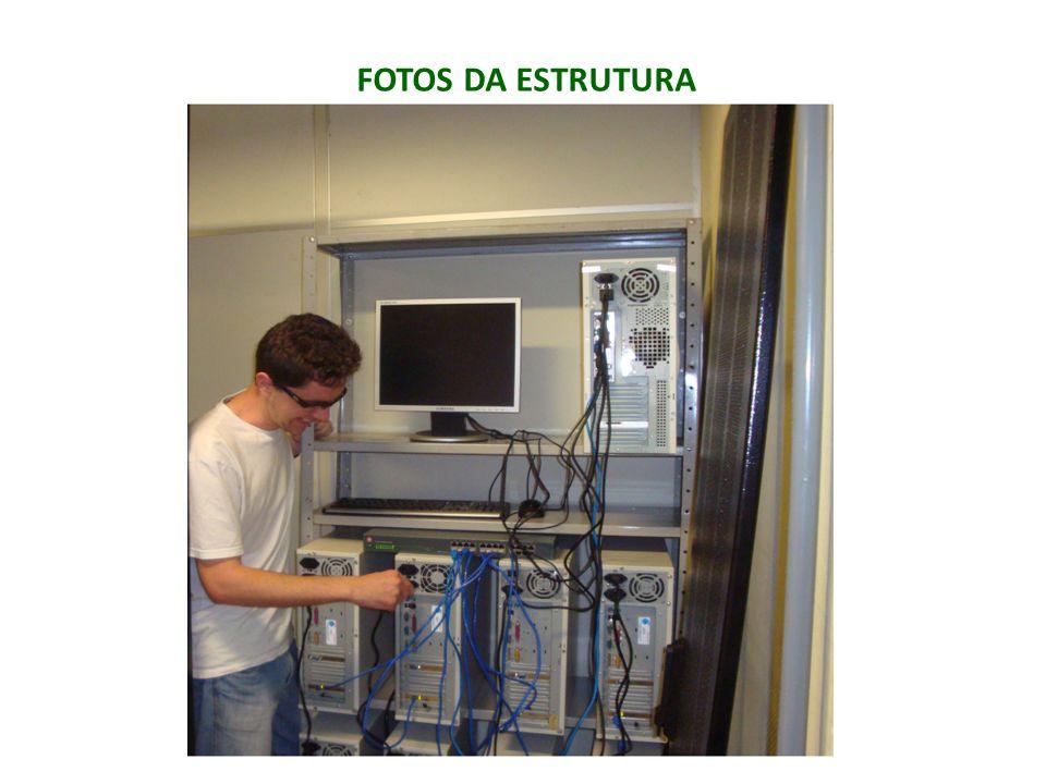 FOTOS DA ESTRUTURA