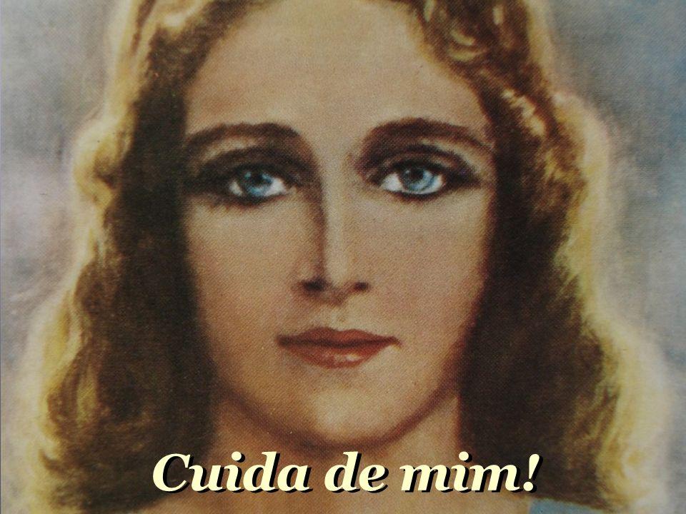 Nossa Senhora, me dê a mão, cuida do meu coração, da minha vida, do meu destino, do meu caminho. Nossa Senhora, me dê a mão, cuida do meu coração, da