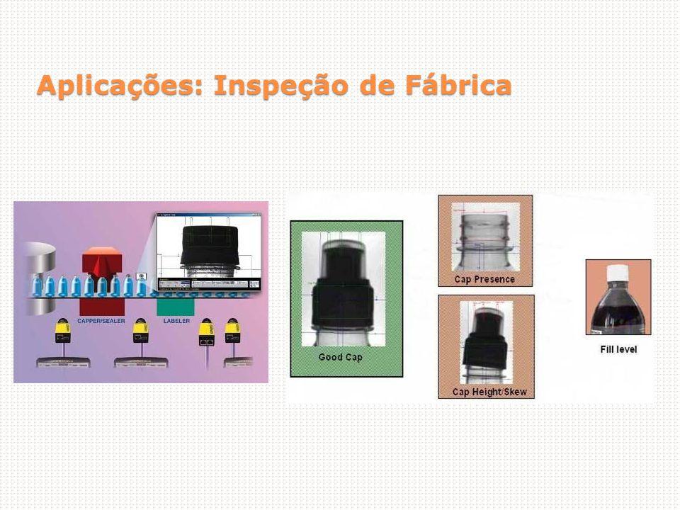 Aplicações: Inspeção de Fábrica