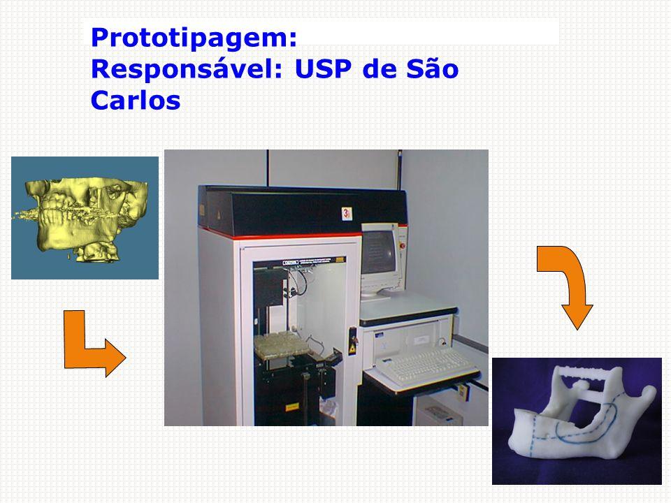 Prototipagem: Responsável: USP de São Carlos