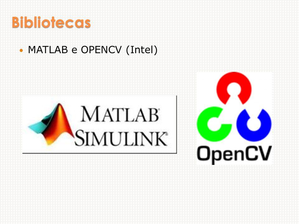 Bibliotecas MATLAB e OPENCV (Intel)