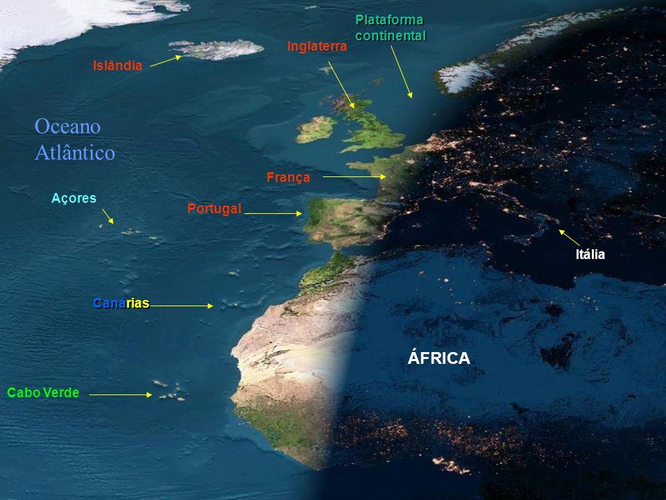 ESPECTÁCULO! Aprecie na imagem seguinte, tirada de satélite em órbita, o anoitecer na Europa e África em dia sem nuvens. Observe as luzes acesas em Pa