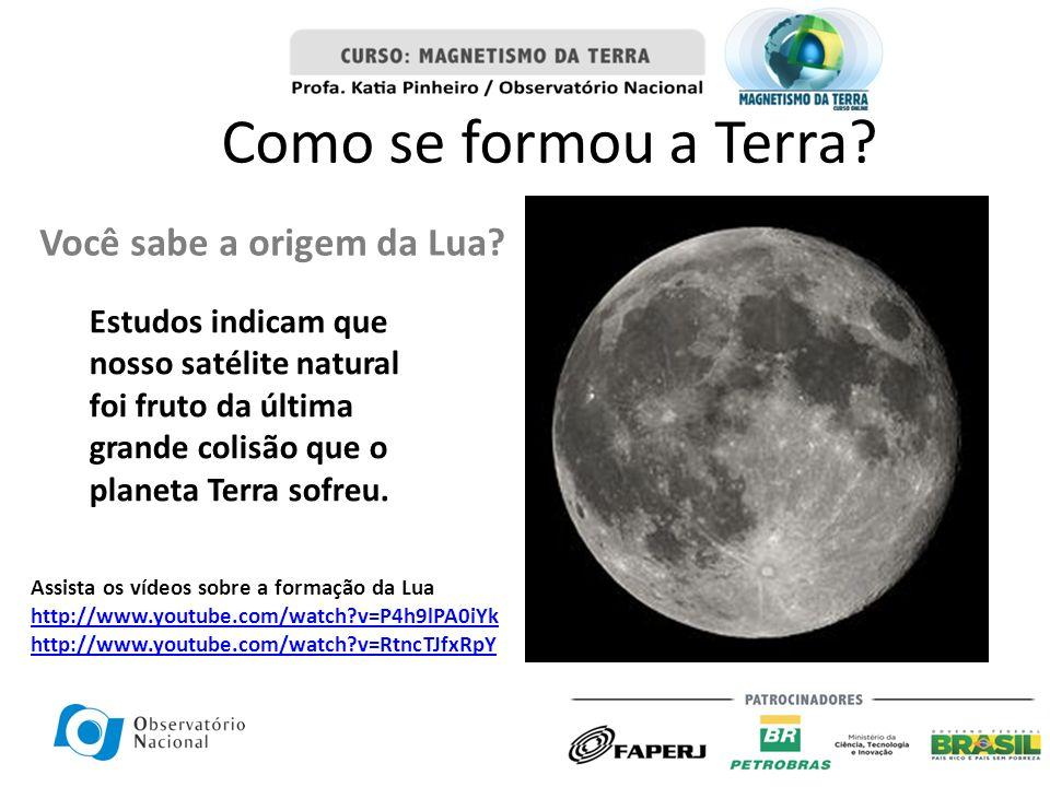 Você sabe a origem da Lua? Estudos indicam que nosso satélite natural foi fruto da última grande colisão que o planeta Terra sofreu. Como se formou a
