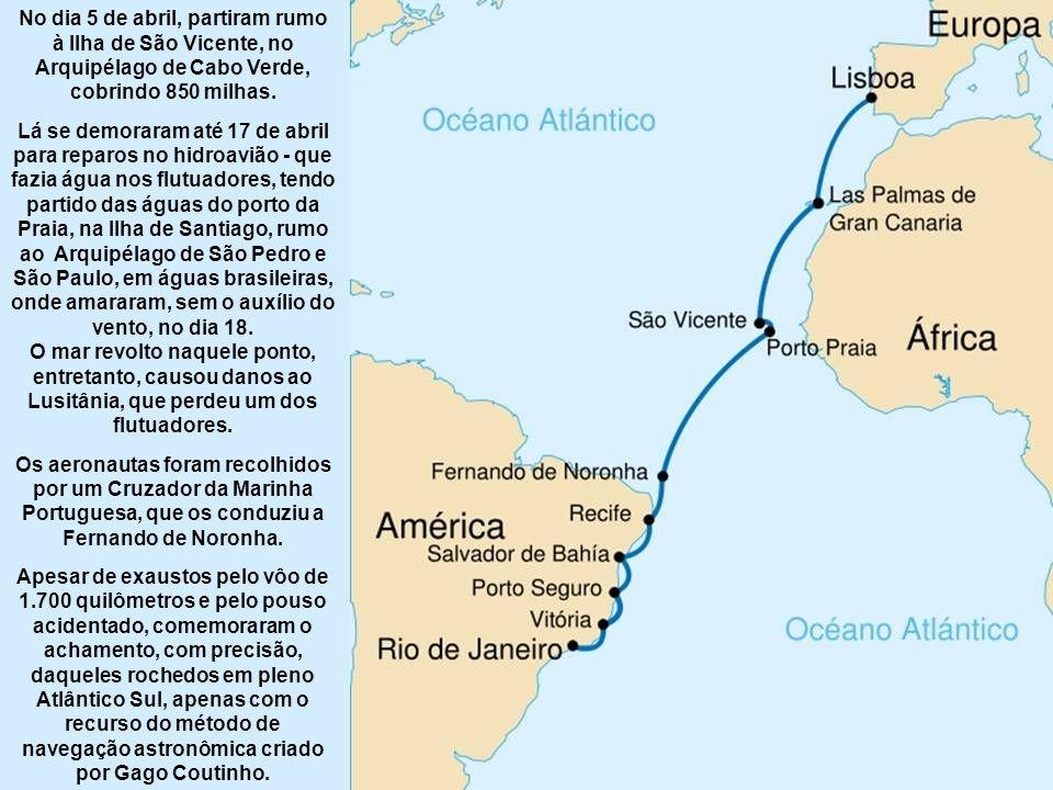 A preparação para a primeira travessia aérea do Atlântico Sul é da iniciativa de Sacadura Cabral, que expôs o projeto a Gago Coutinho, o que motivou que este acelerasse a adaptação do sextante clássico de navegação marítima à navegação aérea.