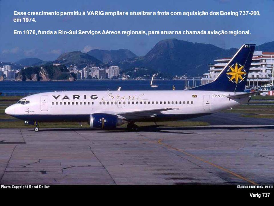 Em 1973, anunciou a compra dos primeiros DC-10 da McDonnell Douglas, menores que os jumbos da Boeing porém mais adequados à demanda brasileira, além de apresentarem a mesma qualidade técnica dos Boeing 747, maior flexibilidade e menor custo operacional.