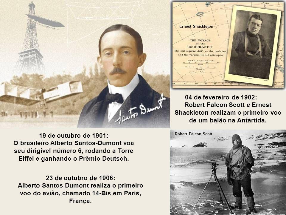 1858: O fotógrafo francês Félix Nadar realiza a primeira fotografia aérea em Paris.