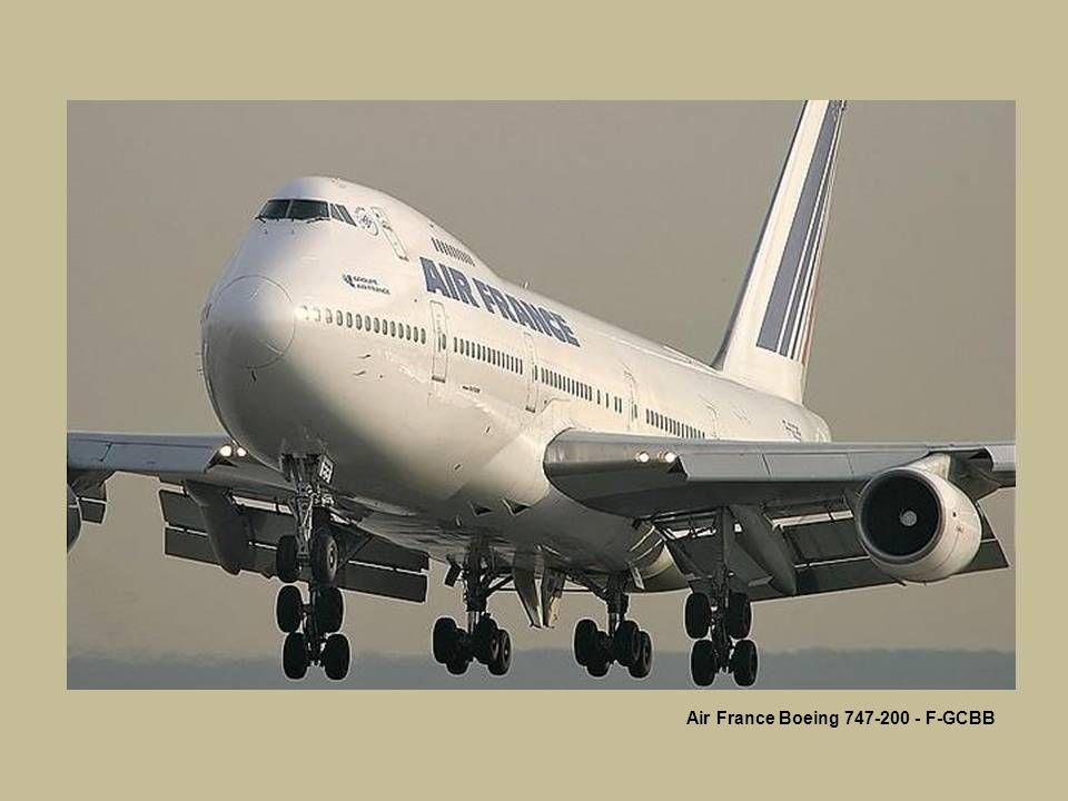 Air France Boeing 747-200 - F-GCBB