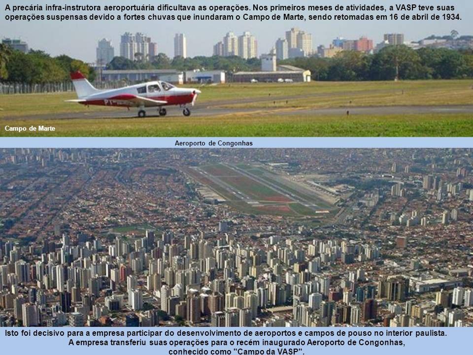 04 de novembro de 1933: A companhia aérea paulista VASP é criada.