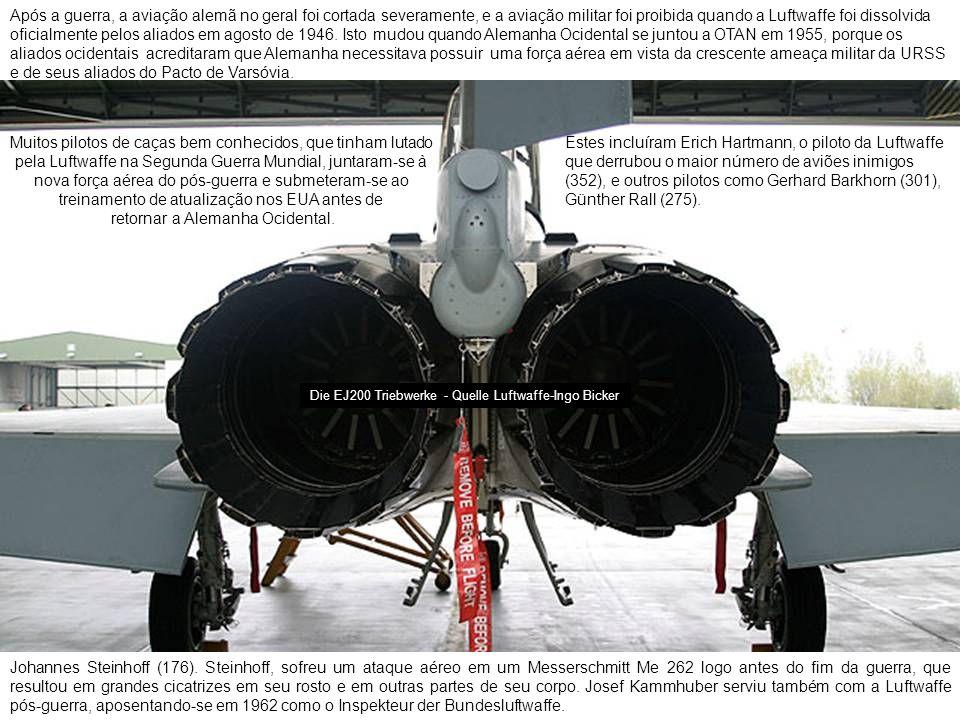 Após a guerra, a aviação alemã no geral foi cortada severamente, e a aviação militar foi proibida quando a Luftwaffe foi dissolvida oficialmente pelos aliados em agosto de 1946.