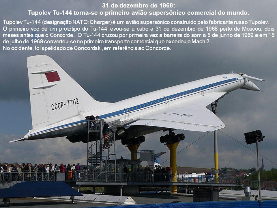 9 de abril de 1967: Primeiro voo do Boeing 737.