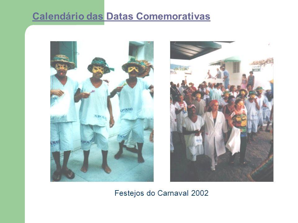 Calendário das Datas Comemorativas Festejos do Carnaval 2002