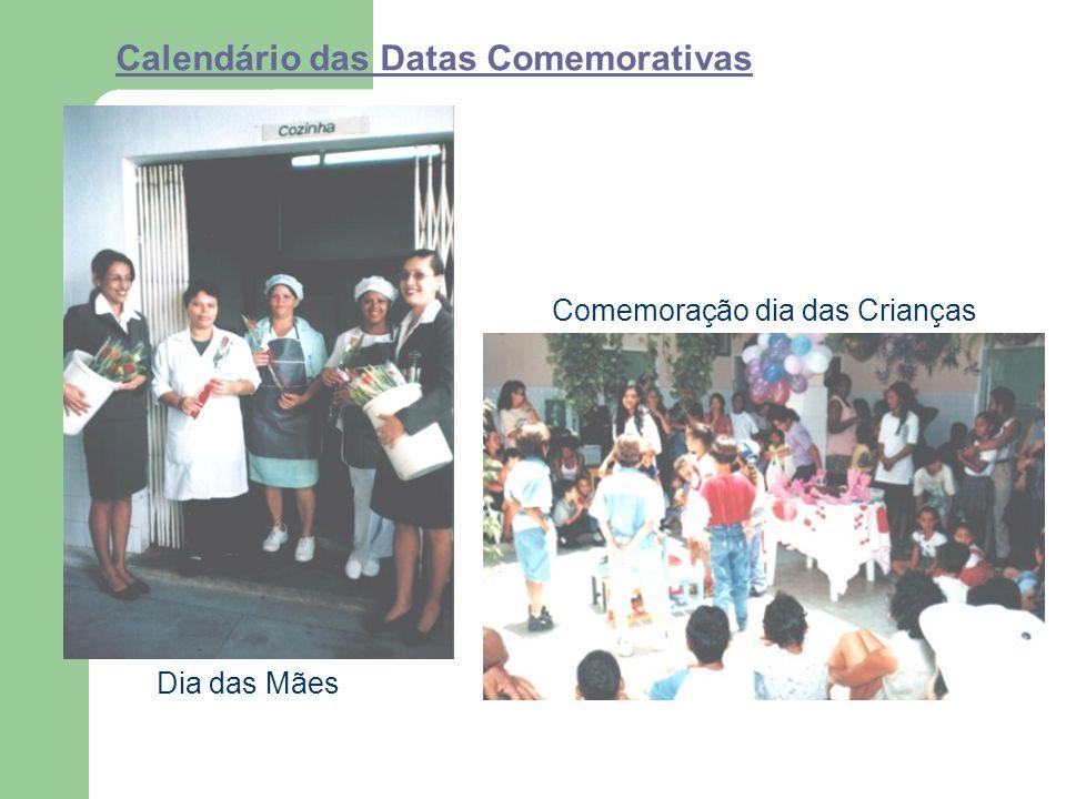 Calendário das Datas Comemorativas Dia das Mães Comemoração dia das Crianças