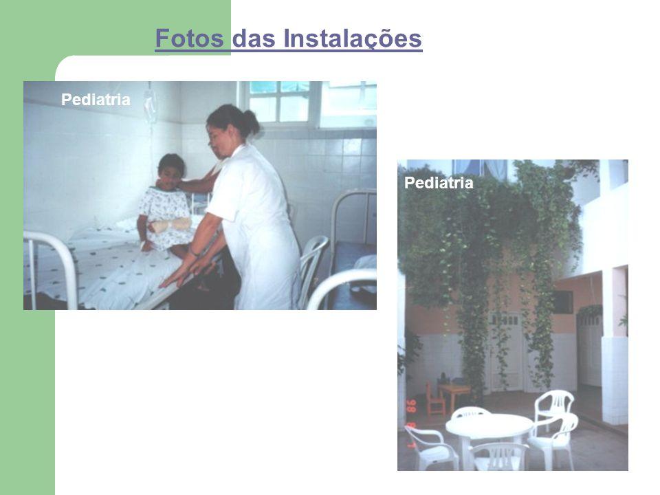 Fotos das Instalações Pediatria
